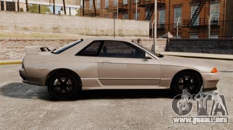 Nissan Skyline GT-R (R32) para GTA 4 left