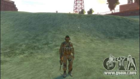 Un soldado ruso v 2.0 para GTA 4