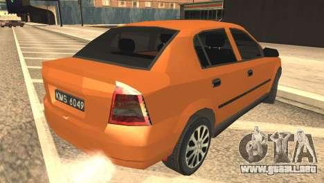 Opel Astra 1.6 TDi SEDAN para GTA San Andreas left