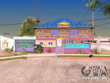 Textura Karl House para GTA San Andreas segunda pantalla