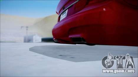 BMW 750 Li Vip Style para GTA San Andreas vista posterior izquierda