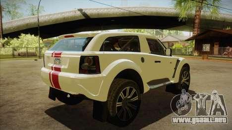 Bowler EXR S 2012 HQLM para la visión correcta GTA San Andreas