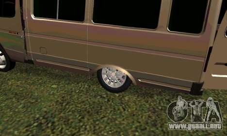 Gacela Tuning para GTA San Andreas left