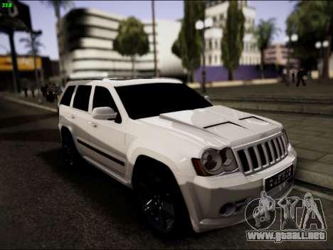 Jeep Grand Cherokee SRT8 para GTA San Andreas