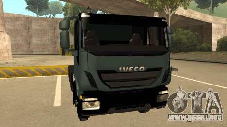 Iveco Hi-Land para GTA San Andreas left