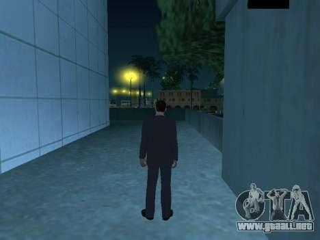 MafiaBoss HD para GTA San Andreas sucesivamente de pantalla