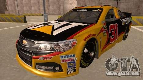 Chevrolet SS NASCAR No. 31 Caterpillar para GTA San Andreas