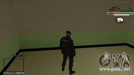 Pak SAPD pieles para GTA San Andreas segunda pantalla
