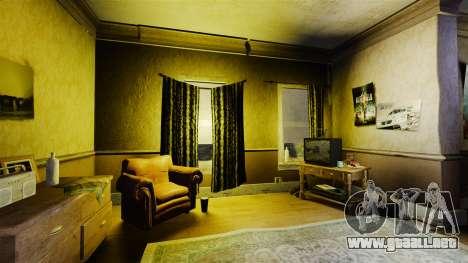 Nuevas texturas en el primer piso de la novela para GTA 4 segundos de pantalla