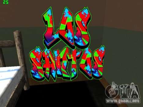 Graffity mod para GTA San Andreas tercera pantalla
