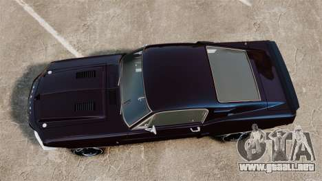 Shelby GT500 para GTA 4 visión correcta