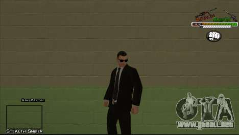 Pak SAPD pieles para GTA San Andreas octavo de pantalla