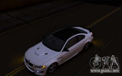 BMW M3 Hamann para GTA San Andreas left