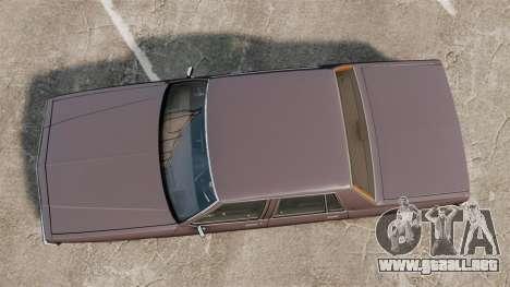 Chevrolet Impala 1985 para GTA 4 visión correcta