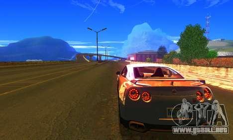 ENBSeries by AVATAR V2 para GTA San Andreas segunda pantalla