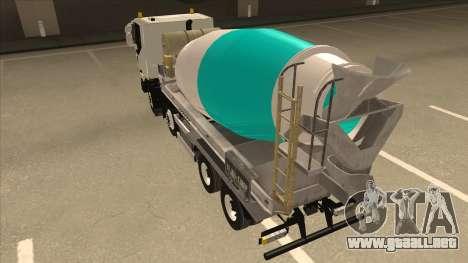 Hola-Land hormigonera camión Iveco para la visión correcta GTA San Andreas