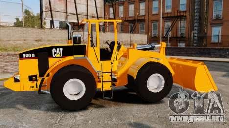 Cargadora frontal Caterpillar 966 g para GTA 4 left