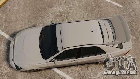Actualizado el sultán para GTA 4 Vista posterior izquierda