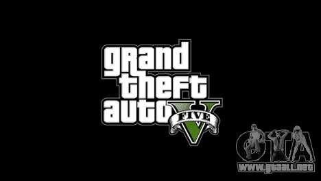 Menú y arranque imágenes al estilo de GTA V para GTA 4 segundos de pantalla