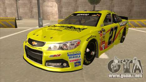 Chevrolet SS NASCAR No. 27 Menards para GTA San Andreas