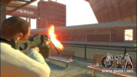 Pechenegos PKP ametralladora para GTA 4 segundos de pantalla