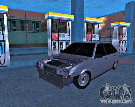 VAZ 2109 roto para GTA San Andreas