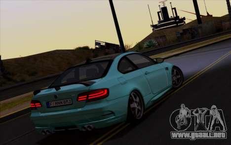 BMW M3 Hamann para la visión correcta GTA San Andreas