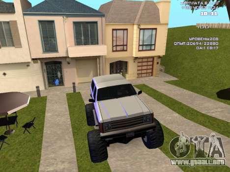 Rancher Monster para visión interna GTA San Andreas