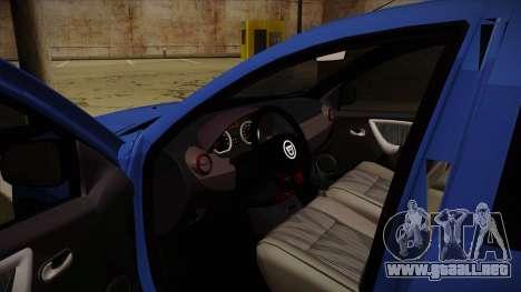 Dacia Duster SUV 4x4 para visión interna GTA San Andreas