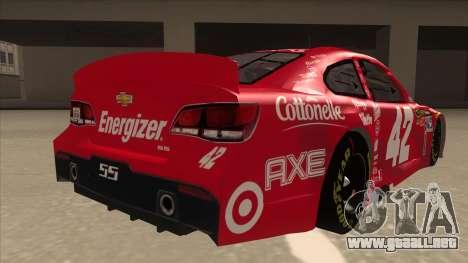 Chevrolet SS NASCAR No. 42 Clorox para la visión correcta GTA San Andreas