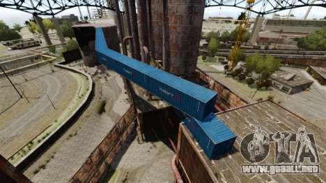 Una base defensiva para GTA 4 quinta pantalla