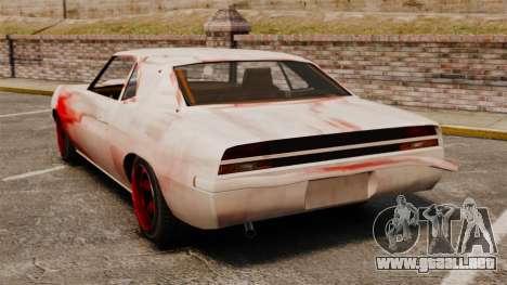 Nuevo color para Vigero oxidado para GTA 4 Vista posterior izquierda