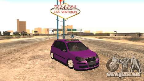 Volkswagen German Polo para GTA San Andreas