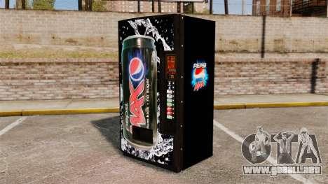 Nuevas máquinas expendedoras de refrescos para GTA 4 segundos de pantalla
