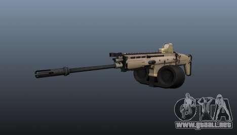 FN SCAR-H ametralladora LMG para GTA 4