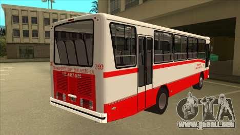 Mercedes-Benz OHL-1320 Linea 621 para la visión correcta GTA San Andreas