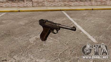 Pistola Parabellum v1 para GTA 4
