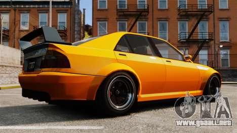 Sedán Sultan RS para GTA 4 left