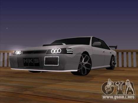 New Sultan para la visión correcta GTA San Andreas