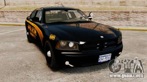 Dodge Charger 2008 LCPD Slicktop [ELS] para GTA 4