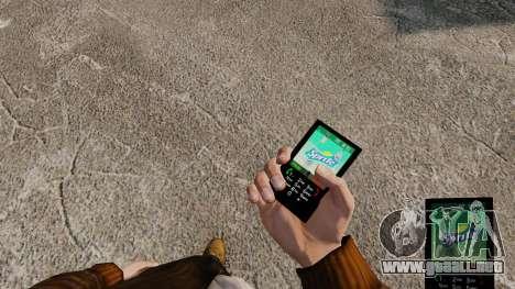 Temas para teléfono marcas bebidas para GTA 4 quinta pantalla