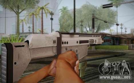 FN Scar para GTA San Andreas tercera pantalla