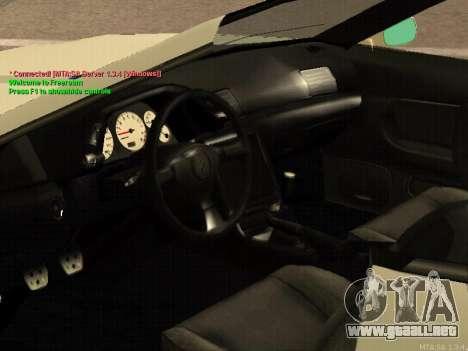 New Elegy para visión interna GTA San Andreas