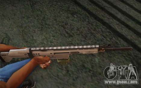FN Scar para GTA San Andreas segunda pantalla