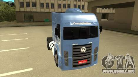 Volkswagen Constellation 19.320 Titan para GTA San Andreas left