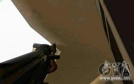 AK-47 para GTA San Andreas séptima pantalla