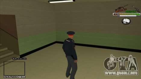 Pak SAPD pieles para GTA San Andreas décimo de pantalla