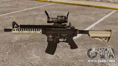 Automático carabina M4 VLTOR v4 para GTA 4 tercera pantalla