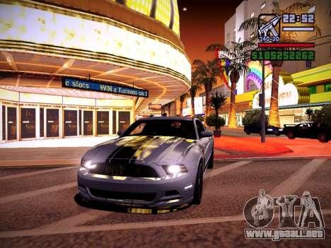 ENB by DjBeast for SA:MP Light Version para GTA San Andreas undécima de pantalla