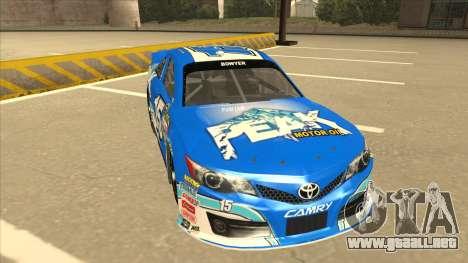 Toyota Camry NASCAR No. 15 Peak para GTA San Andreas left